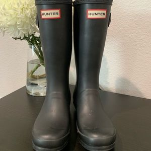 Girls Size 4 Hunter Rain Boots